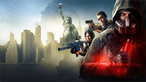 Bewaffnete Abenteurer vor der Skyline von New York.©Ubisoft