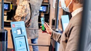 Hybrides Einkaufen: Rewe eröffnet kassenlose Filiale©Rewe