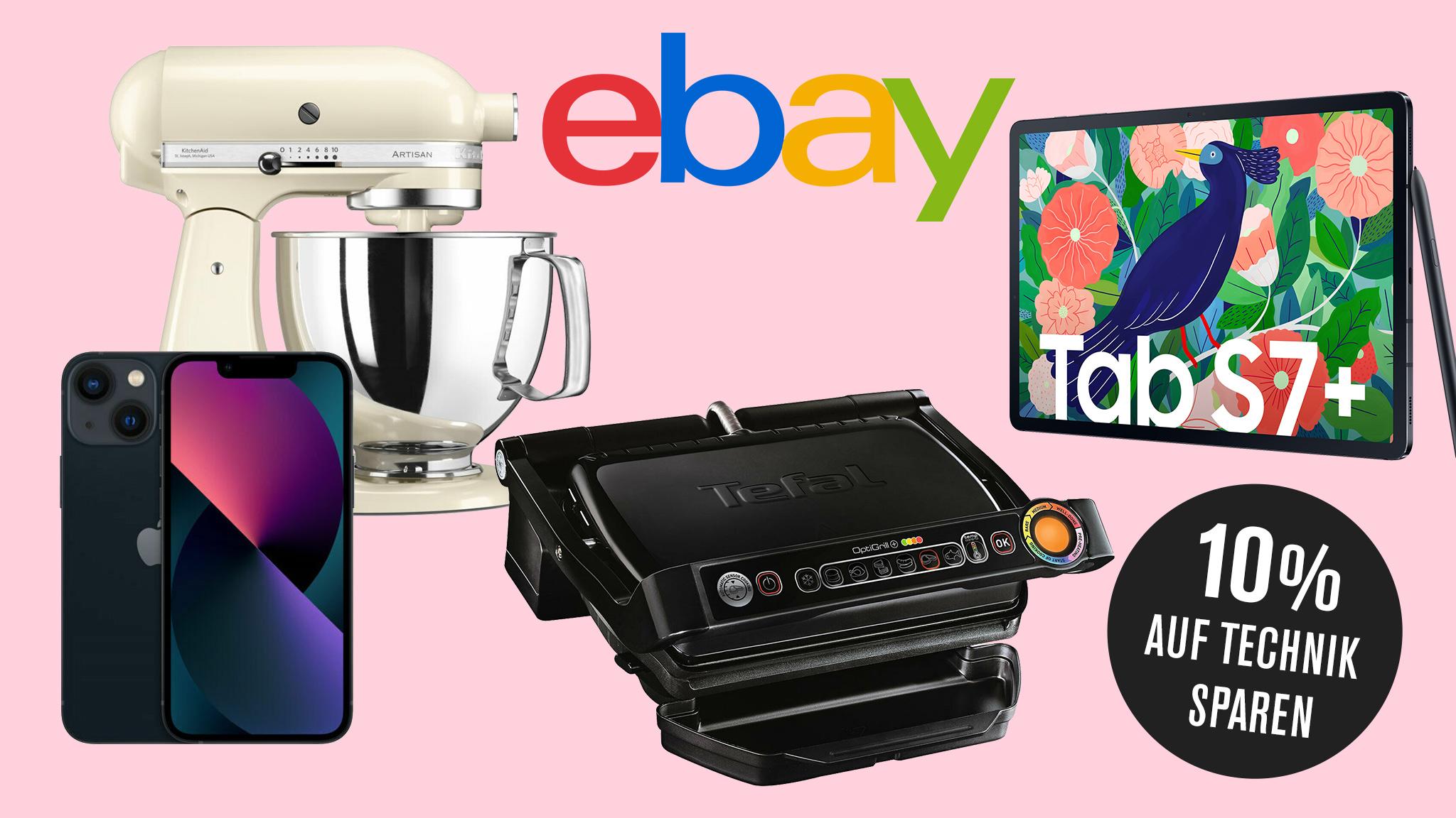 Apple, Samsung & Co bei Ebay im Angebot: Gutscheincode sorgt für satten Preisvorteil!