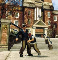 Actionspiel Bully – Die Ehrenrunde: Jimmy und Lehrer