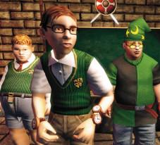 Actionspiel –Bully, die Ehrenrunde: Nerds