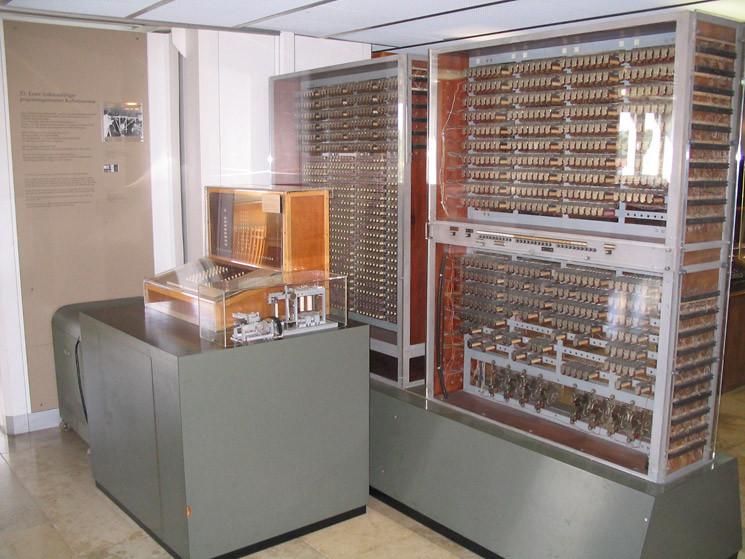 Der z3 von konrad zuse der erste frei programmierbare elektrische