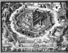 Baldurs Gate 1 Komplettlösung für PC: Karte