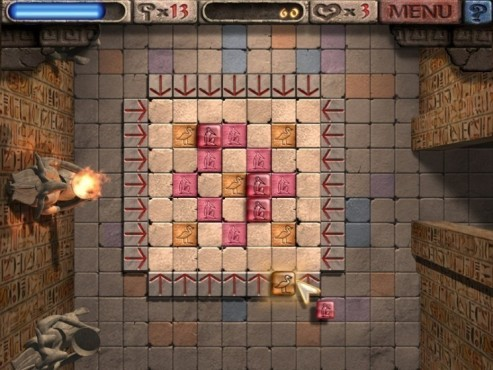 Geschicklichkeitsspiel Zepter des Ra: Spielsteine