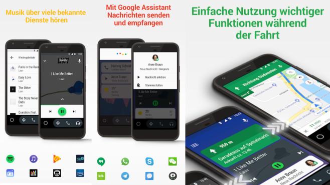 Android Auto (App): Google-Dienste im Auto nutzen ©COMPUTER BILD