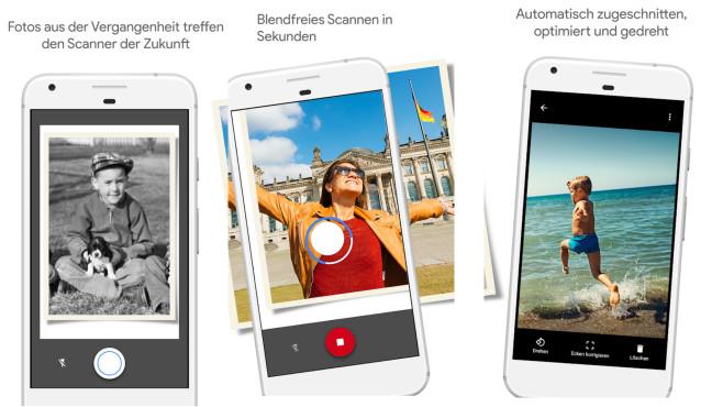 Fotoscanner von Google Fotos (App) ©COMPUTER BILD