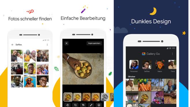 Gallery Go (Android-App) ©COMPUTER BILD