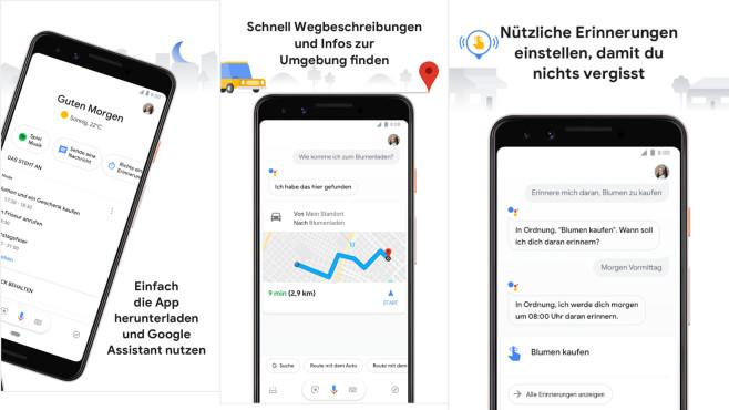 Google Assistant (Android-App) ©COMPUTER BILD