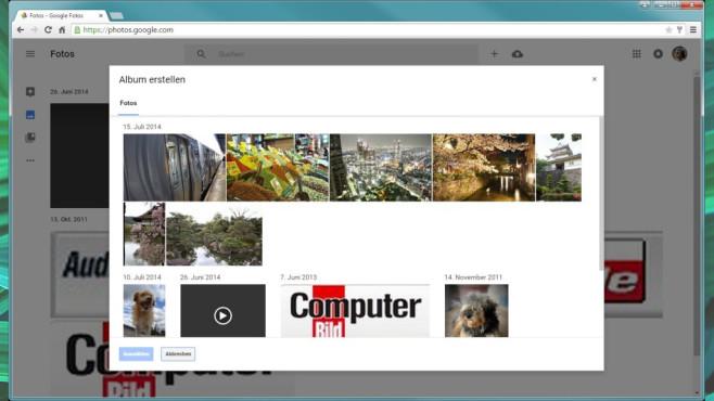 Google Fotos: Schnappschüsse verwalten, aufwerten ©COMPUTER BILD