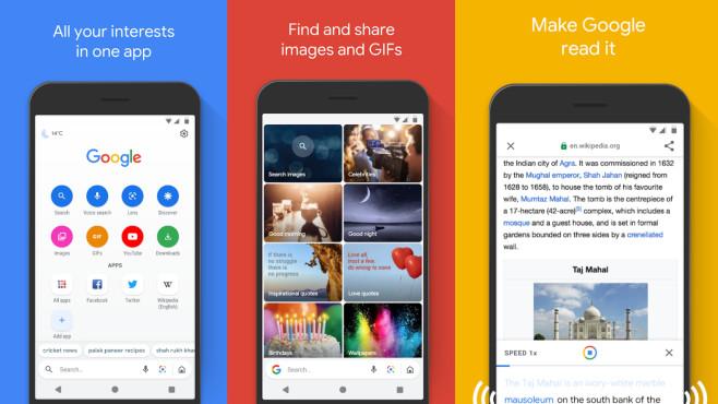 Google Go (Android-App) ©COMPUTER BILD
