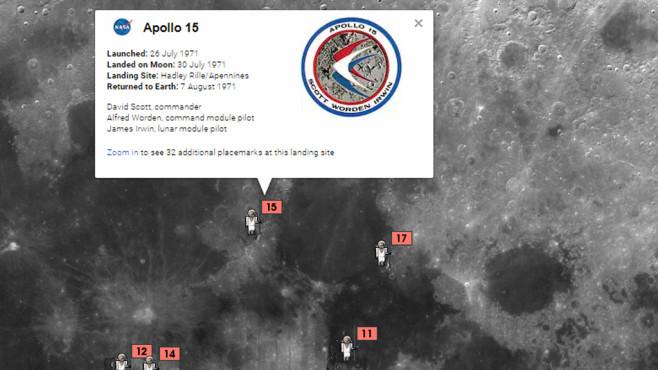 Google Moon und Mars: Weltraummission antreten ©COMPUTER BILD