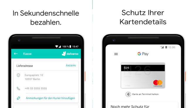 Google Pay (Android-App) ©COMPUTER BILD
