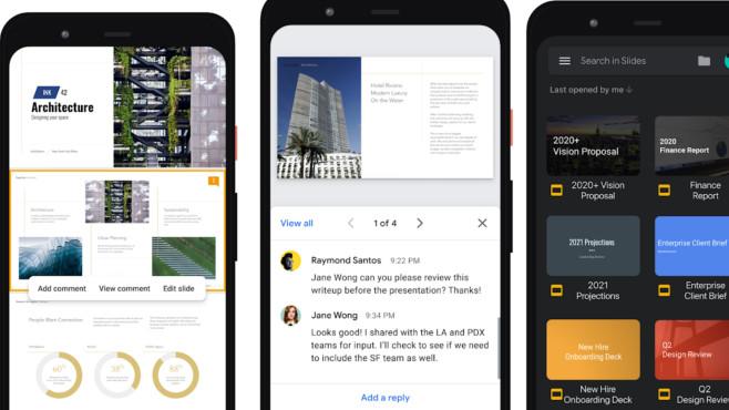 Google Präsentationen (App) ©COMPUTER BILD