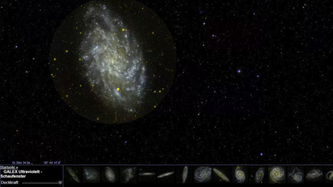 Google Sky: Ferne Galaxien nah ranholen ©COMPUTER BILD