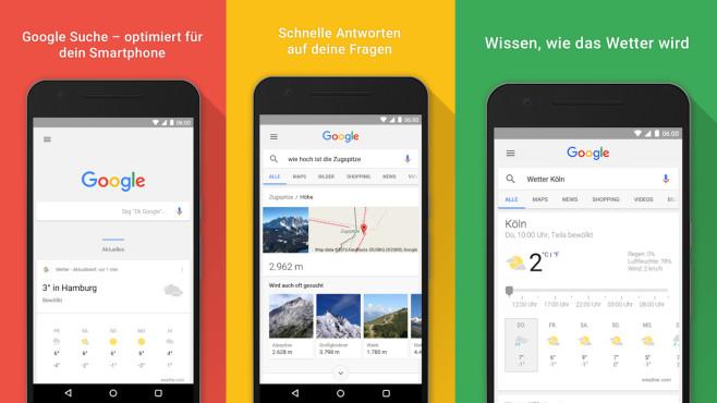Google-Suche (Android-App) ©COMPUTER BILD