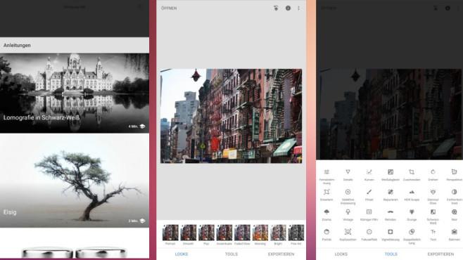 Snapseed: Bilder am Smartphone bearbeiten ©COMPUTER BILD