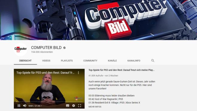 YouTube: Riesiges Film-Netzwerk ©COMPUTER BILD