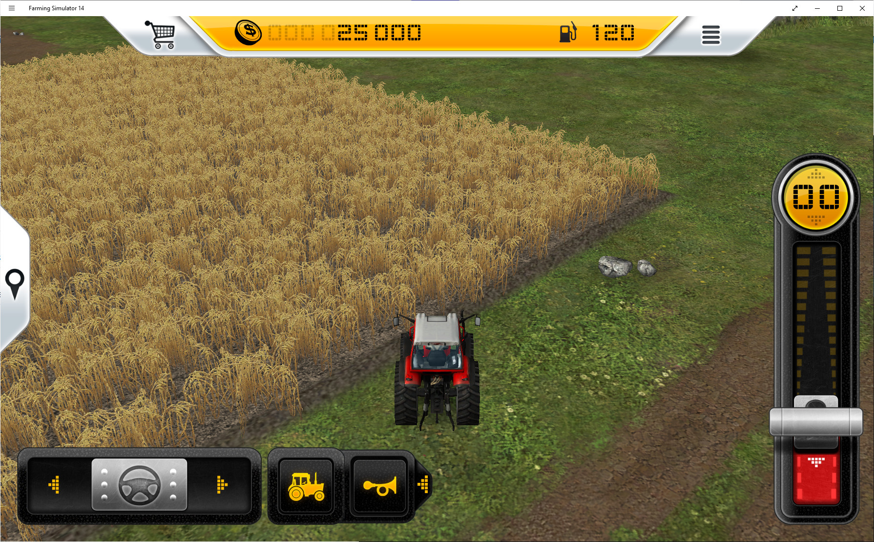 Screenshot 1 - Landwirtschafts-Simulator (Windows-10-App)