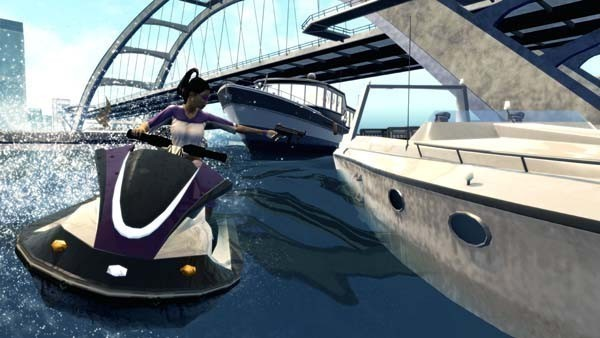 Actionspiel Saints Row 2: Jetski