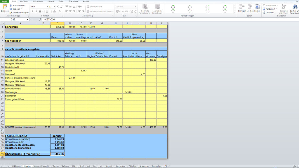 Haushaltsbucher Finanzen Im Griff Bilder Screenshots Computer Bild