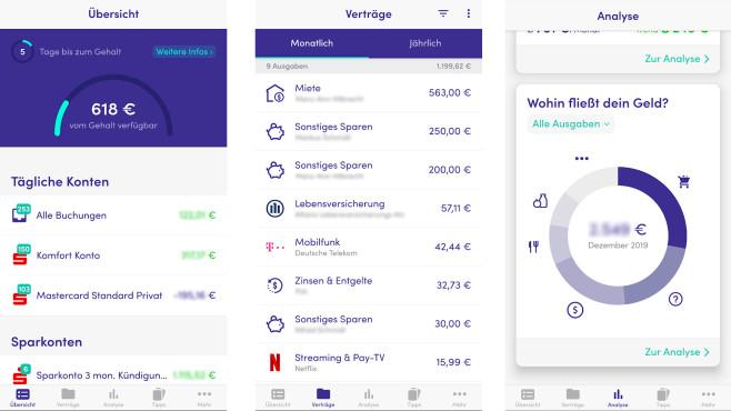 FinanzGuru (Android-App) ©COMPUTER BILD