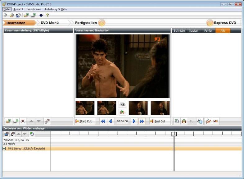 Screenshot 1 - DVR-Studio Pro