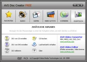 AVS Disc Creator Free