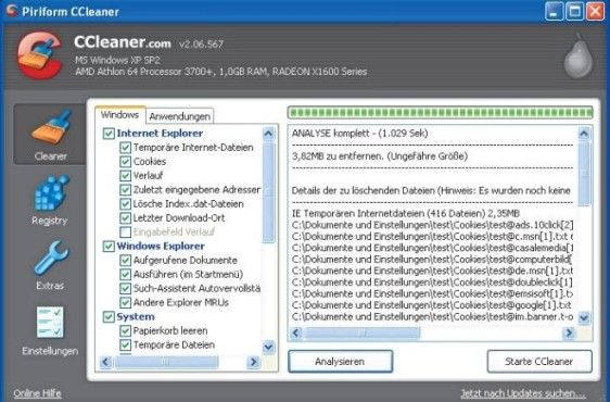 CCleaner 2.06