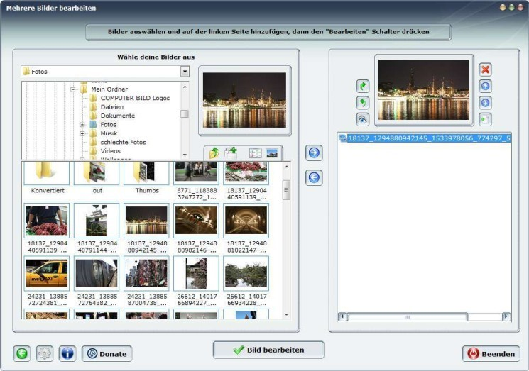 Screenshot 1 - MobaPhoto
