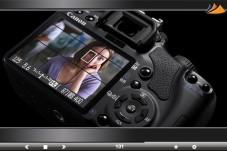 Canon EOS 450D: Kontrollbildschirm