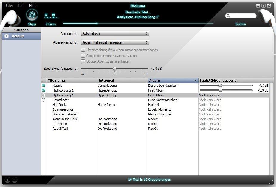 Screenshot 1 - iVolume