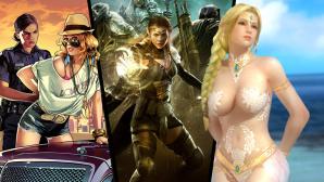 Cyber Babes©Electronic Arts, Riot Games, wargaming.net, Konami, Take-Two, Bethesda, Ubisoft, Square Enix, CD Projekt