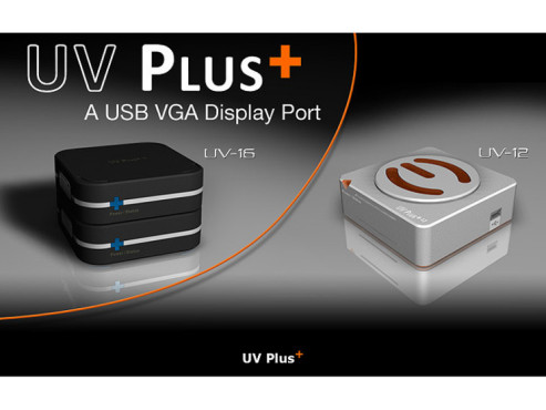 PC öffnen unnötig: USB-Grafikkarten für den zweiten Monitor EVGA UV Plus+