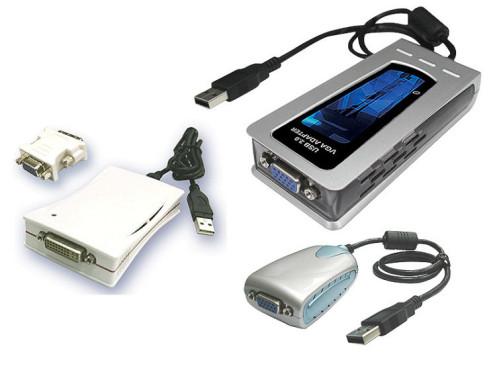 PC öffnen unnötig: USB-Grafikkarten für den zweiten Monitor MCT USB 2.0 Grafikkarten