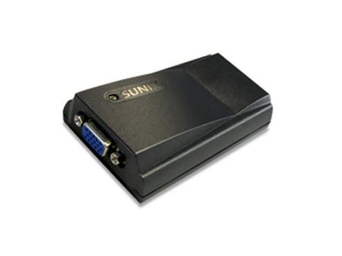 PC öffnen unnötig: USB-Grafikkarten für den zweiten Monitor Sunix VGA2614