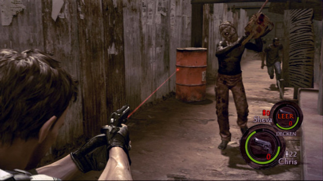 Actionspiel Resident Evil 5: Fass
