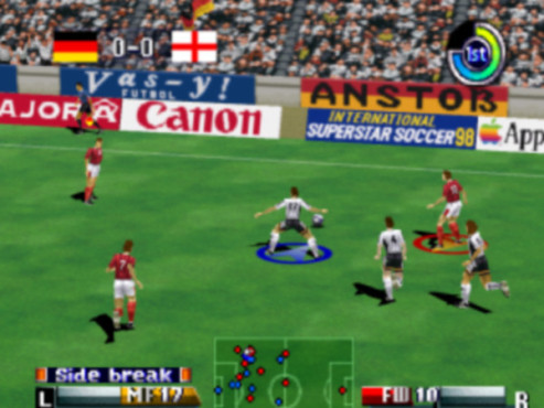 Fußballspiel International Superstar Soccer 64: Pass © Konami