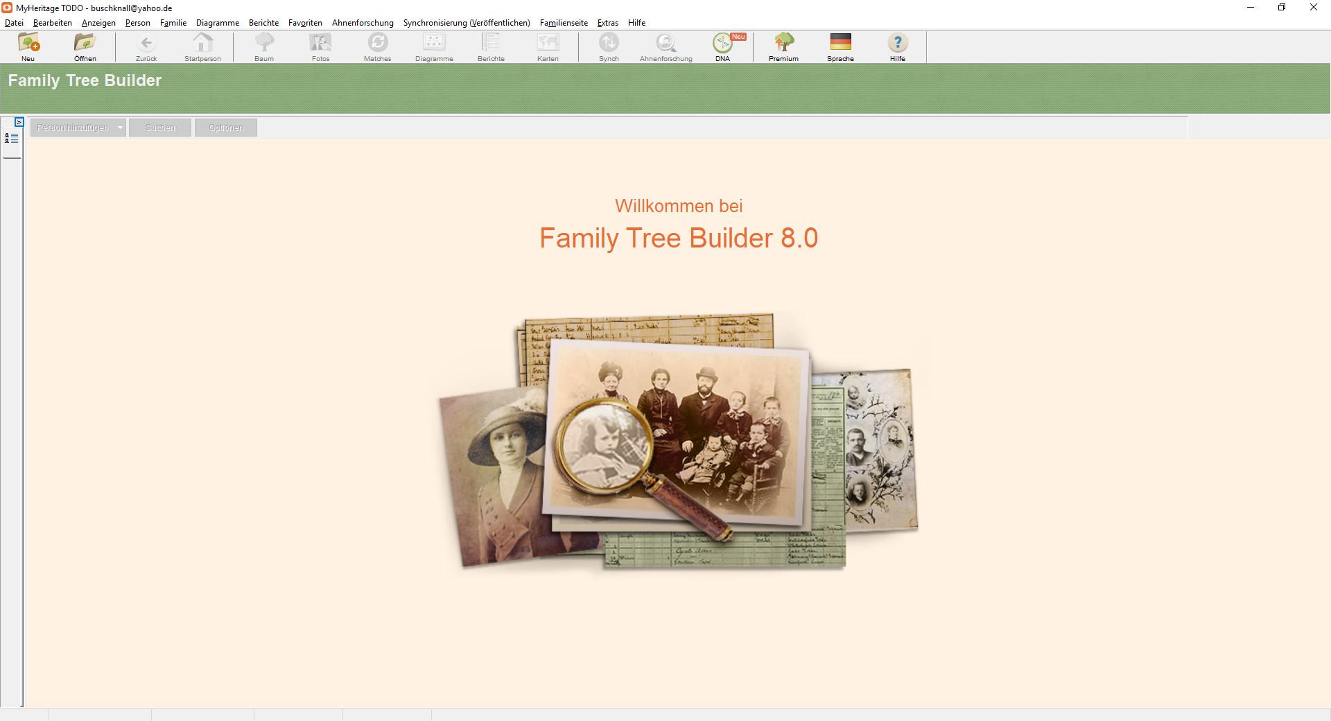 Screenshot 1 - Family Tree Builder