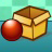 Icon - Balls and Boxes (Bälle und Kästen)