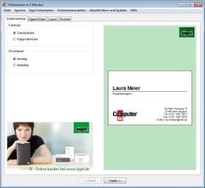 Office Visitenkarten Gestalten Drucken Downloads