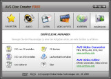 Blu-ray Brennprogramme: AVS Disc Creator