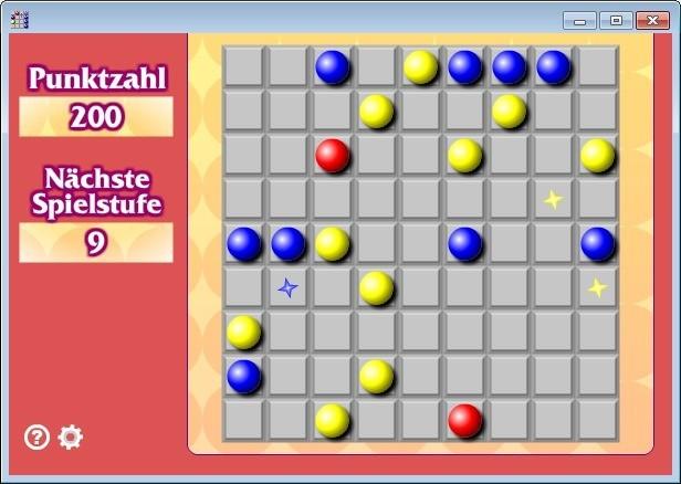 Screenshot 1 - Ball Lines (Kugel-Linien)
