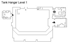 Metal Gear Solid – Komplettlösung für Actionsspiel: Tank Hangar Level 1