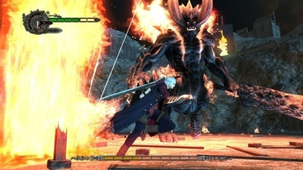 Actionspiel Devil May Cry 4: Feuer