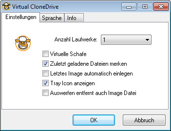 Screenshot 1 - Virtual CloneDrive