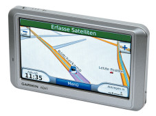 Garmin Nüvi 750 TFM: Navigationsgerät