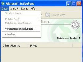 ActiveSync: Synchronisierungs-Software