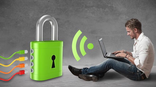 Zehn Tipps für sicheres WLAN ©ukanoga - fotolia.com, alphaspirit - fotolia.com