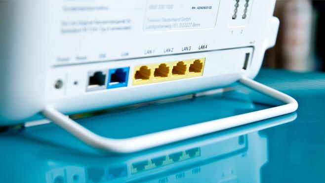 Router Splitter Telefon Korrekt Anschließen Computer Bild