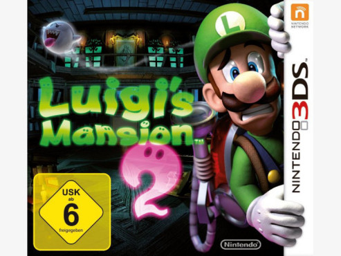 Actionspiel Luigi's Mansion Dark Moon: Packshot © Nintendo